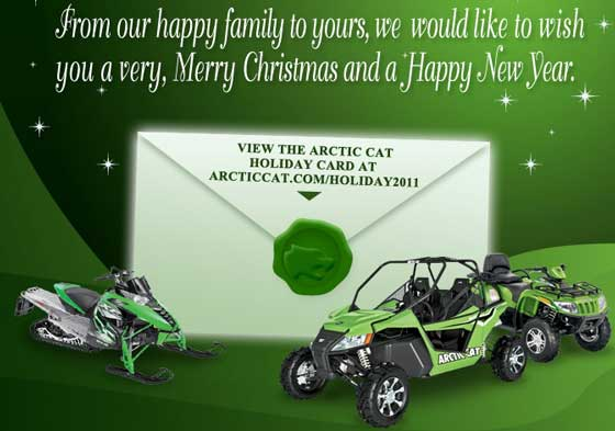 Happy Holidays from Arctic Cat