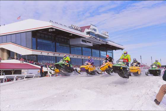 1997 Arctic Cat's lead the charge at Canterbury