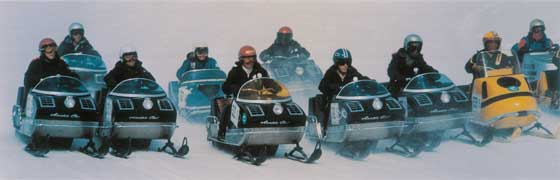 Vintage Arctic Cat racing