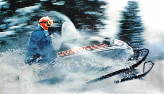 Mercury Snowmobile Racing goes big