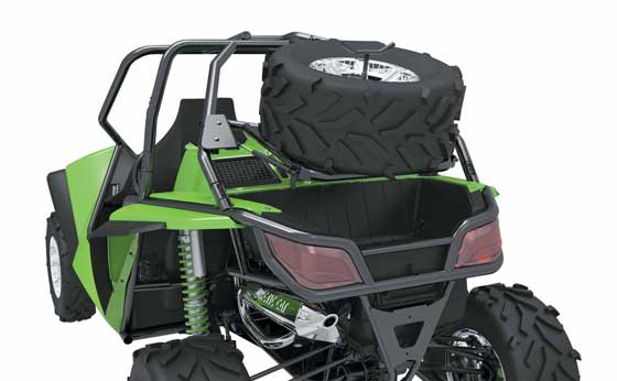 Arctic Cat Wildcat Spare Tire Carrier