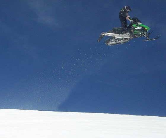 Eric Rouland from Arctic Cat, testing...