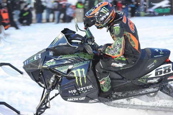 Team Monster Energy/Arctic Cat's Tucker Hibbert wins again