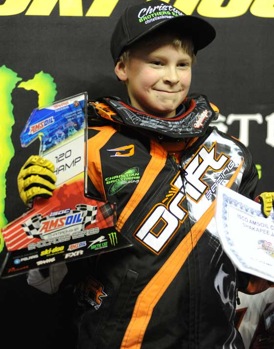 Evan Christian of the CBR/Arctic Cat race team, photo by ArcticInsider