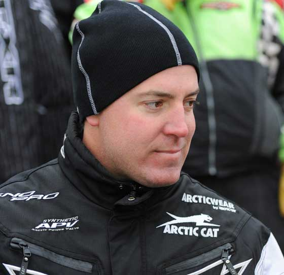 Arctic Cat engineer and racer, Brian Dick