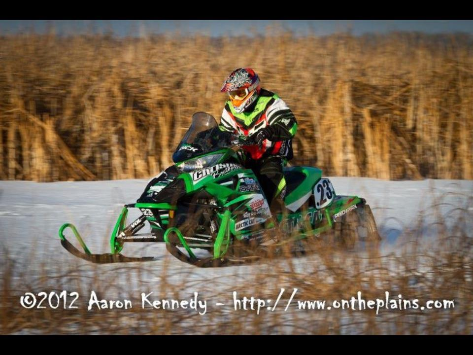 Arctic Cat's Brian Dick, photo by Aaron Kennedy