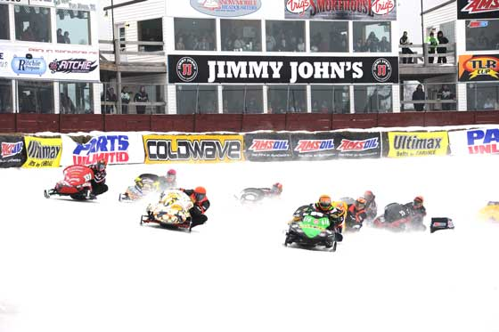 Racing at Eagle River 2012