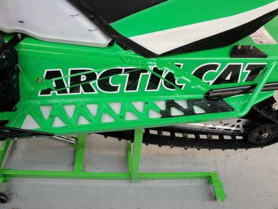 Brian & Paul Dick's 2012 Arctic Cat Iron Dog race sleds