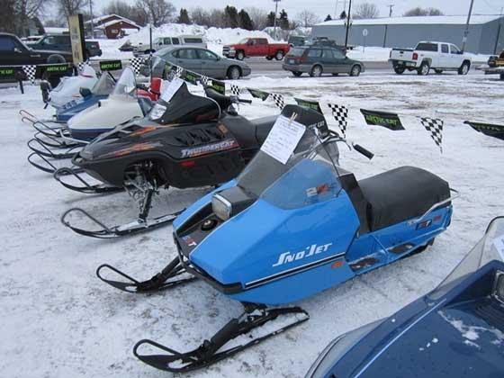 St. Hilaire, Minn., Vintage Snowmobile Show