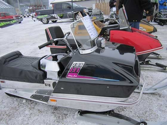 Arctic Cat Alley Cat wins Best Restored