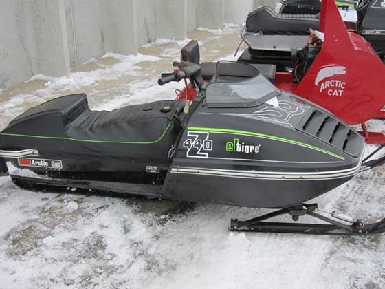 People's choice winner, 1975 Arctic Cat Z440