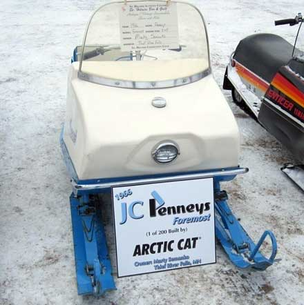Foremost JC Penny Snowmobile