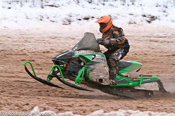 CBR/Arctic Cat team of Ryan Simons and D.J. Ekre finish 2nd