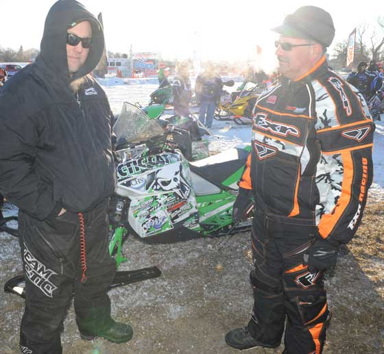 Grafton USCC cross-country snowmobile race