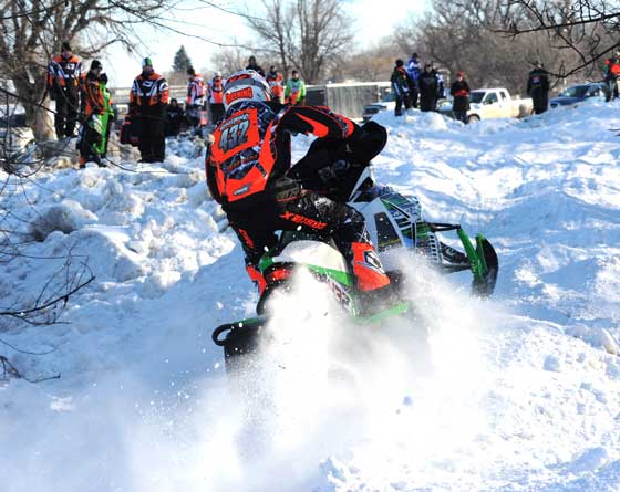 Ryan Greening, FOX and Team Arctic Cat racer