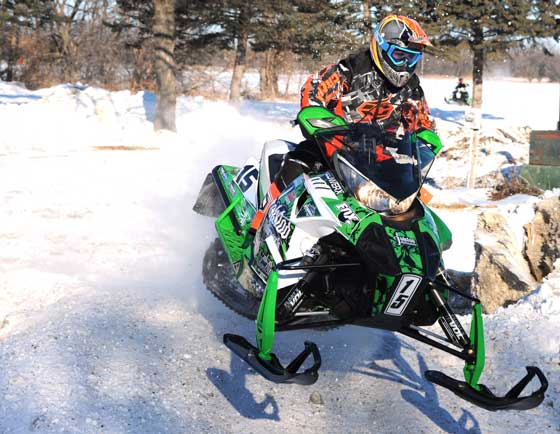 Team Arctic Cat's Wes Selby