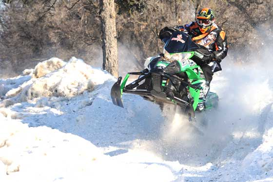 Team Arctic Cat racer, Cory Davis