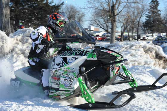 Team Arctic Cat racer, Cody Kallock