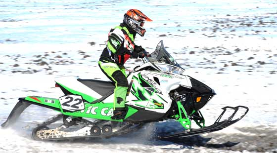 Jolene Bute, Team Arctic terrain legend