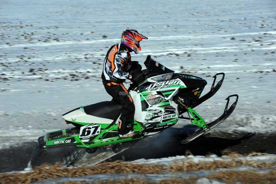 Team Arctic Cat racer, Ryan Simons