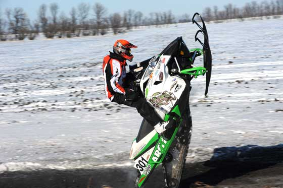 Nathan Moritz, Team Arctic Cat