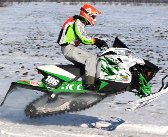 Boris Mahlich, Team Arctic Cat racer