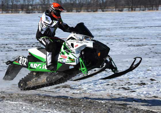 Zach Herfindahl, Team Arctic Cat