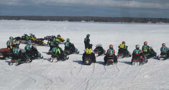 2012 snowmobile Ride with the Champs, photo by arcticinsider.com