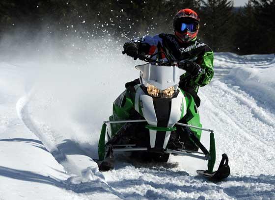 2013 Arctic Cat F vs. XF Snowmobile Comparison