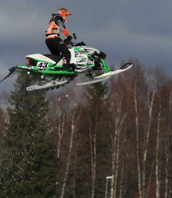 Arctic Cat/Christian Bros. Racing pro Logan Christian at the Clash of Nations