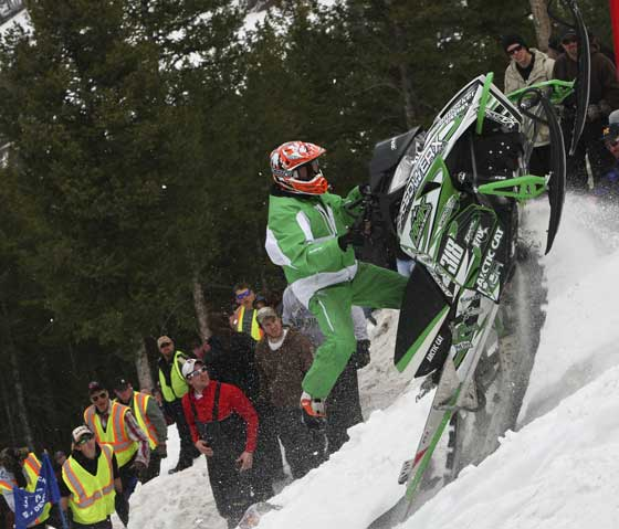 Team Arctic Cat hillclimber, the uber-amazing Kyle Tapio... 2012 King of Kings