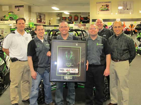 Country Cat, Arctic Cat Dealer of the Year