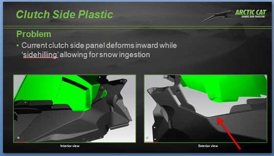 2013 Arctic Cat M snowmobile update
