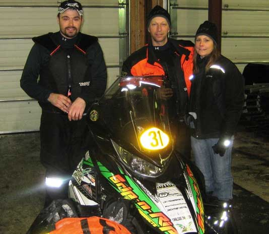 Team Arctic Cat's Tim Lessard and Eric Hall at Cain's Quest