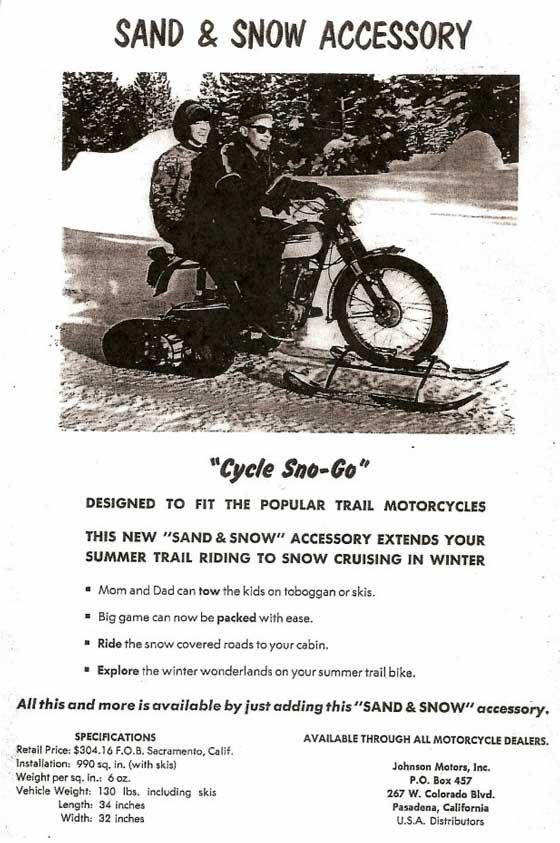 Cycle Sno Go