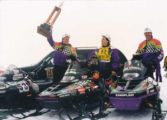 Brad Pake, Jeremy Fyle and Kirk Hibbert 1-2-3 at the '95 Grand 500