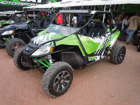 UTV Inc. custom Arctic Cat Wildcat