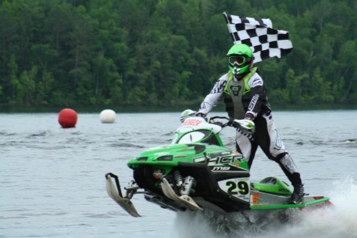 Team Arctic Cat racer Dale Lindbeck wins 2012 IWA in Moose Lake