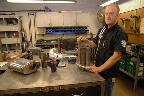 Mike Larson, Snowmobile Design Engineer at Arctic Cat