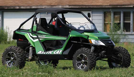Arctic Cat Wildcat for the Class 5 Rally to TRF