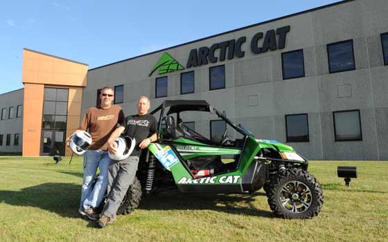 Arctic Cat Wildcat Class 5 Rally to TRF