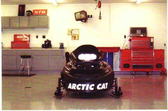Tom Wantland's Arctic Cat Thundercat project