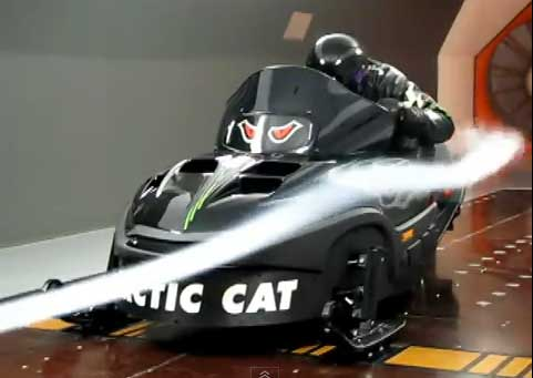 Tom Wantland's Arctic Cat Thundercat project
