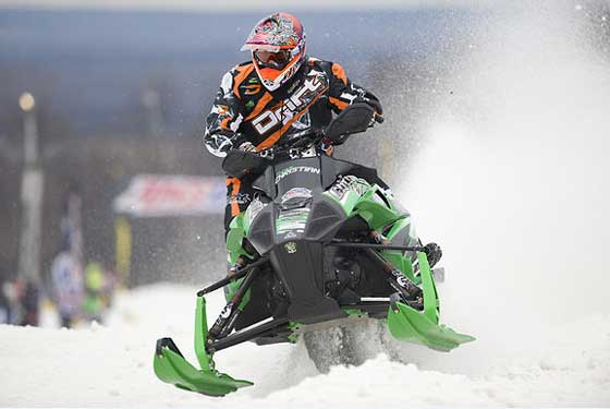 Arctic Cat/Christian Bros. Racing pro Logan Christian
