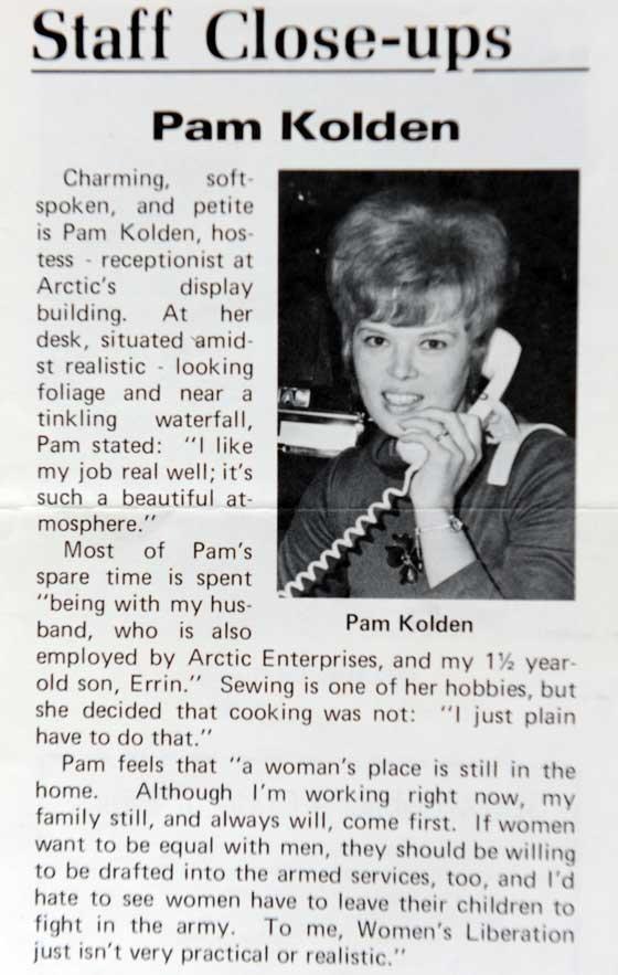 Arctic Cat's Pam Cwikla (Kolden)