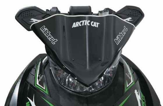 2013 Arctic Cat F800 Tucker Hibber Race Replica