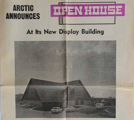 Arctic Cat Display Building from 1971