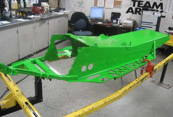 2013 Arctic Cat Sno Pro 600 ProCross Race Chassis