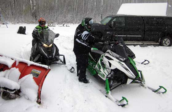 2012-13 Arctic Cat October Shakedown Ride