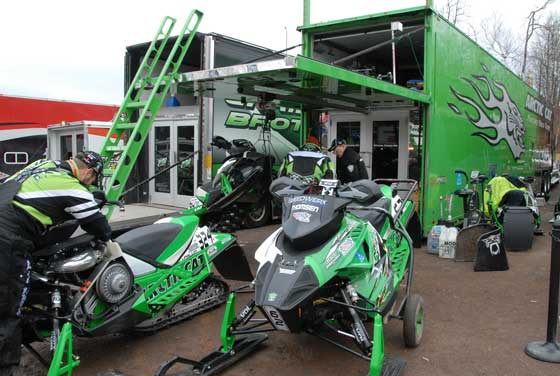 Ebert will manage the Factory Team Arctic snocross trailer